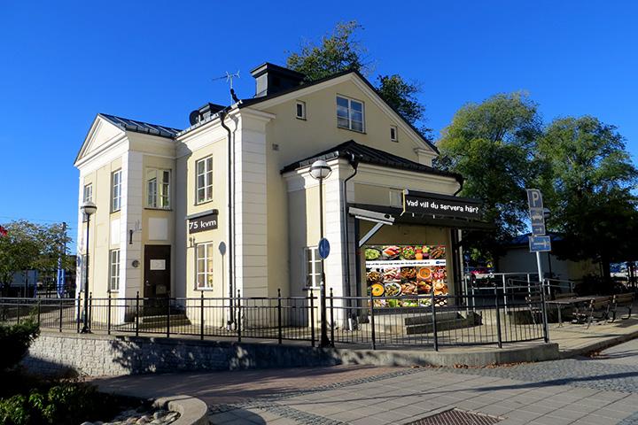 Gamla Stinsbostaden är under renovering. Här kommer det att finnas plats för din verksamhet.