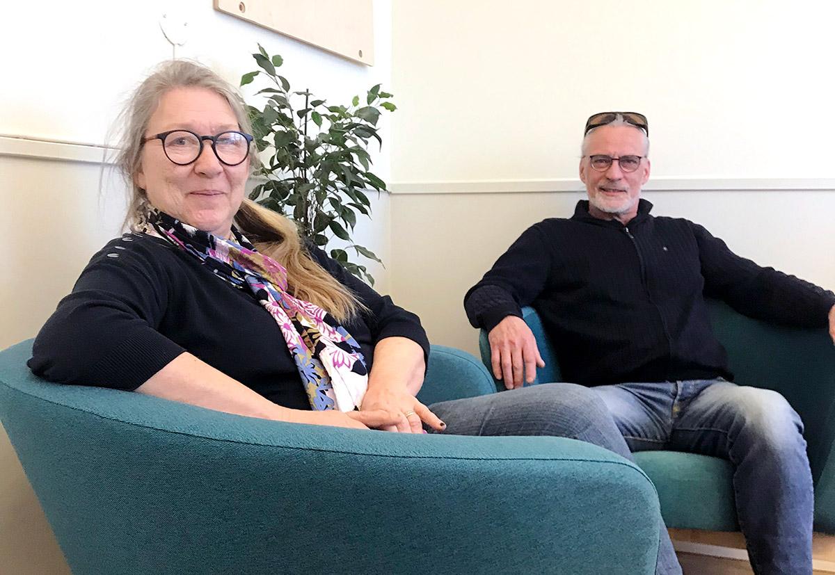 Tina och Jan-Eric Haugdahl, Riga Wood Sweden